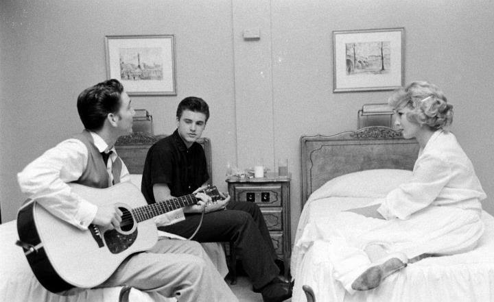 James Burton and Ricky Nelson