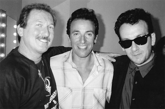 James, Bruce Springsteen and Elvis Costello